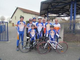 Ecole de cyclisme 16/03/2013