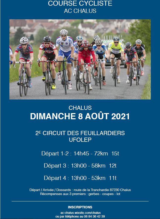 Course chalus aout 2021