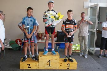 Corentin podium