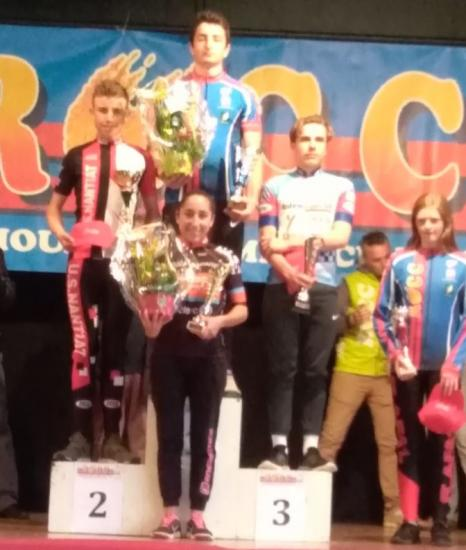 Rochechouart podium